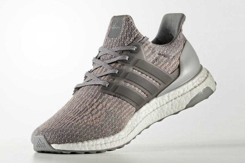 79d6d2bda adidas UltraBOOST 3.0 Grey and Pink Colorway