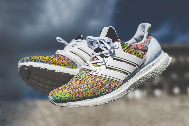 adidas Ultra BOOST 3 0 Confetti Custom Footwear Sneakers Running Shoes