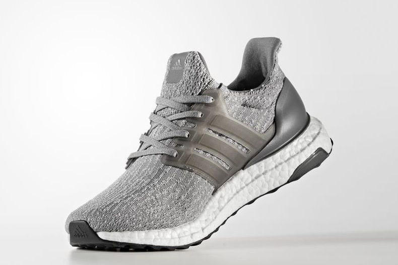 differently 90650 a4286 adidas UltraBOOST 3 0 Four Grey
