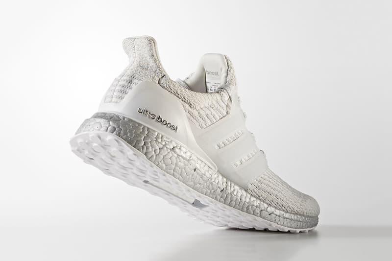 "adidas UltraBOOST ""Crystal White"" Three Stripes"