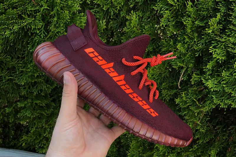 official photos f9251 02802 YEEZY BOOST 350 V2 Calabasas Custom By Mache