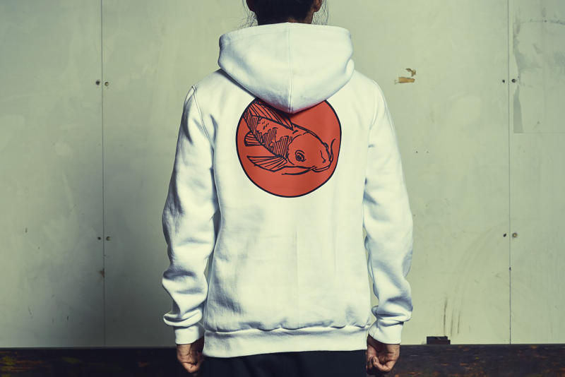 Afew Rise of the Koi Lookbook Collection Capsule Hoodie Jacket Shirt Masa Toshi