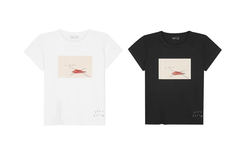 Agnès B. David Lynch Cannes Film Festival 70th Anniversary T-shirt Collection