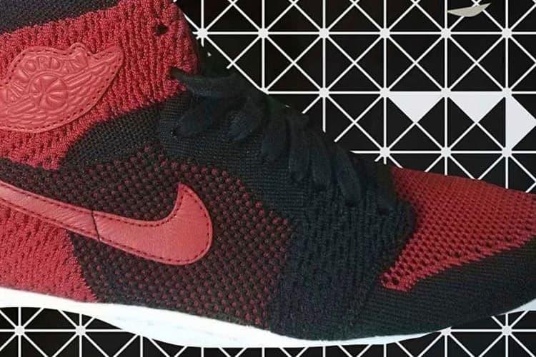"Air Jordan 1 ""Banned"" Flyknit"