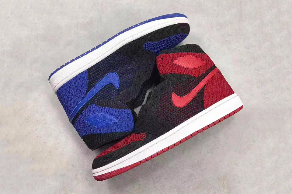 1df88ebefe20 A Better Look at the Air Jordan 1 Flyknit In