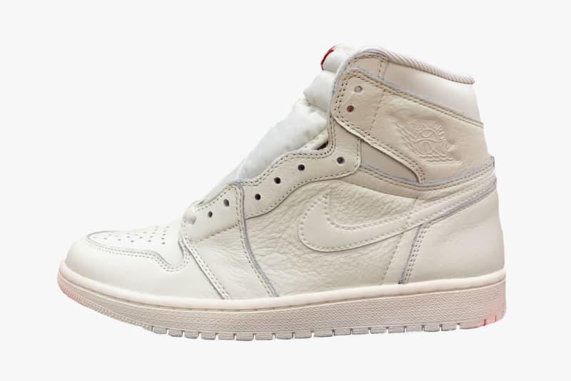 Air Jordan 1 All-White First Look