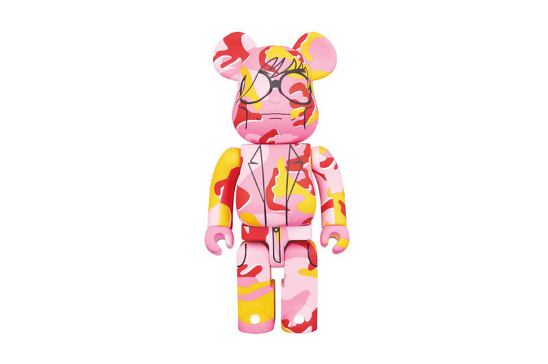 a63ad89e3b19 Andy Warhol Foundation Medicom Toy Camo Bearbricks