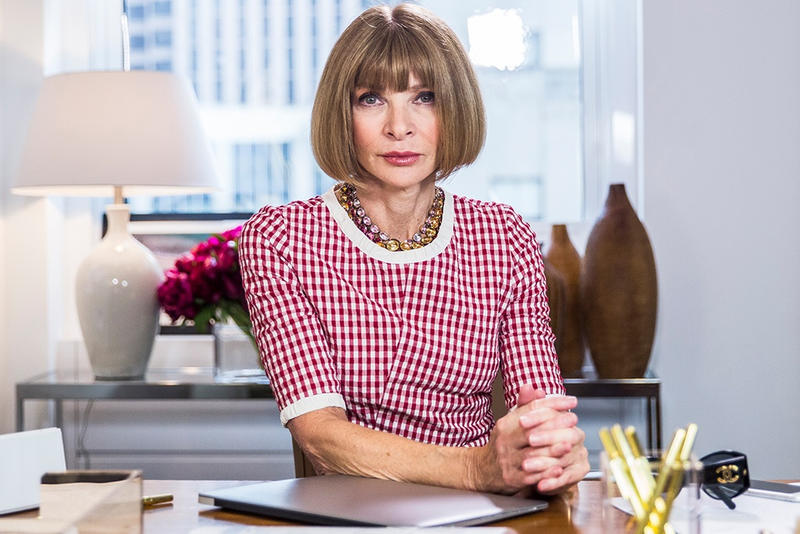 Anna Wintour DBE Queen Elizabeth Dame Commander of the Order of the British Empire