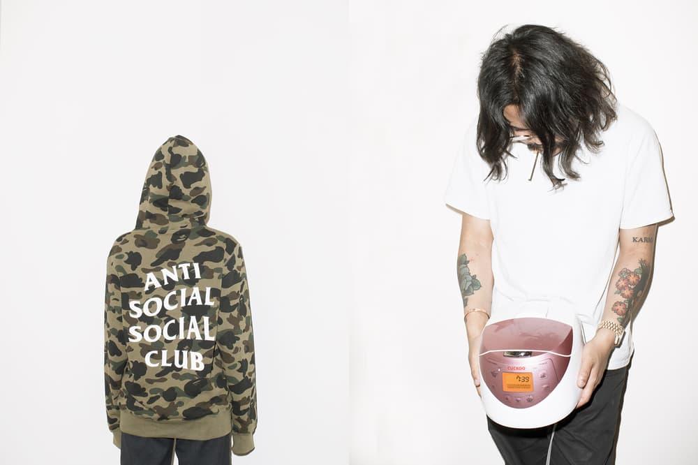 Anti Social Social Club BAPE Lookbook Kenneth Cappello