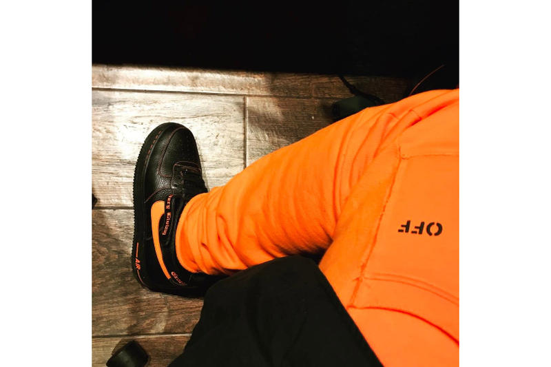 ASAP Bari VLONE Nike Air Force 1 High