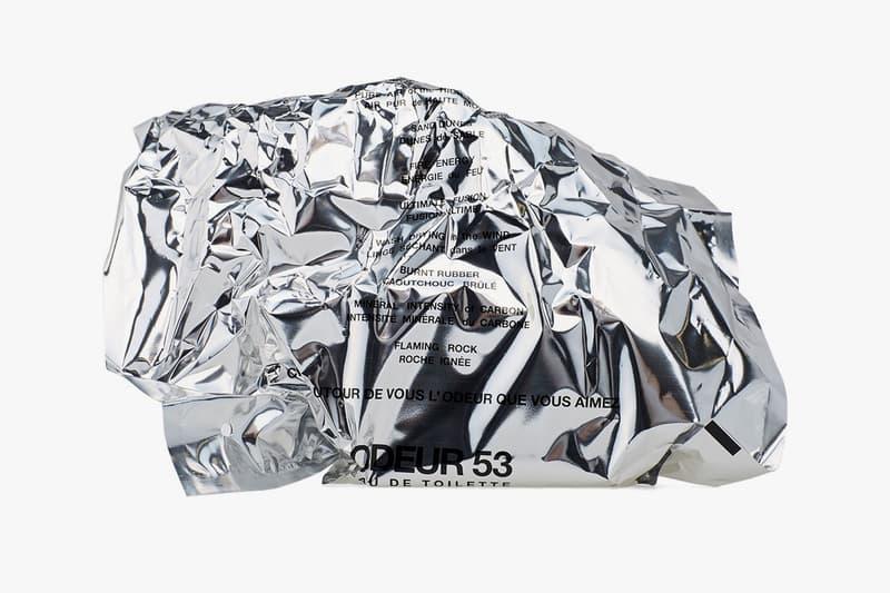 COMME des GARÇONS Odeur 53 Packaging