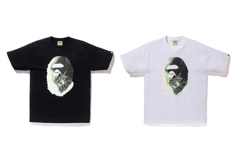 Alien x BAPE 2017 Spring/Summer Collaboration A Bathing Ape Baby Milo