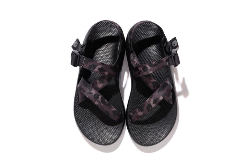 BAPE x Chaco Camo Sandals 2017 Spring/Summer A Bathing Ape Outdoor Collection
