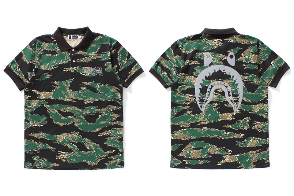 BAPE's Tiger Camo Collection Brings Together a Stream of Summer Staples