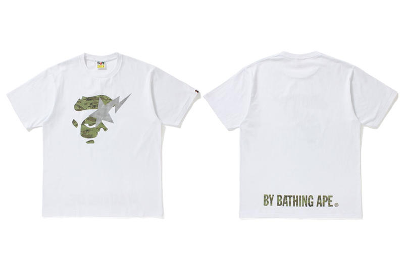 BAPE Tiger Camo 2017 Summer Collection A Bathing Ape