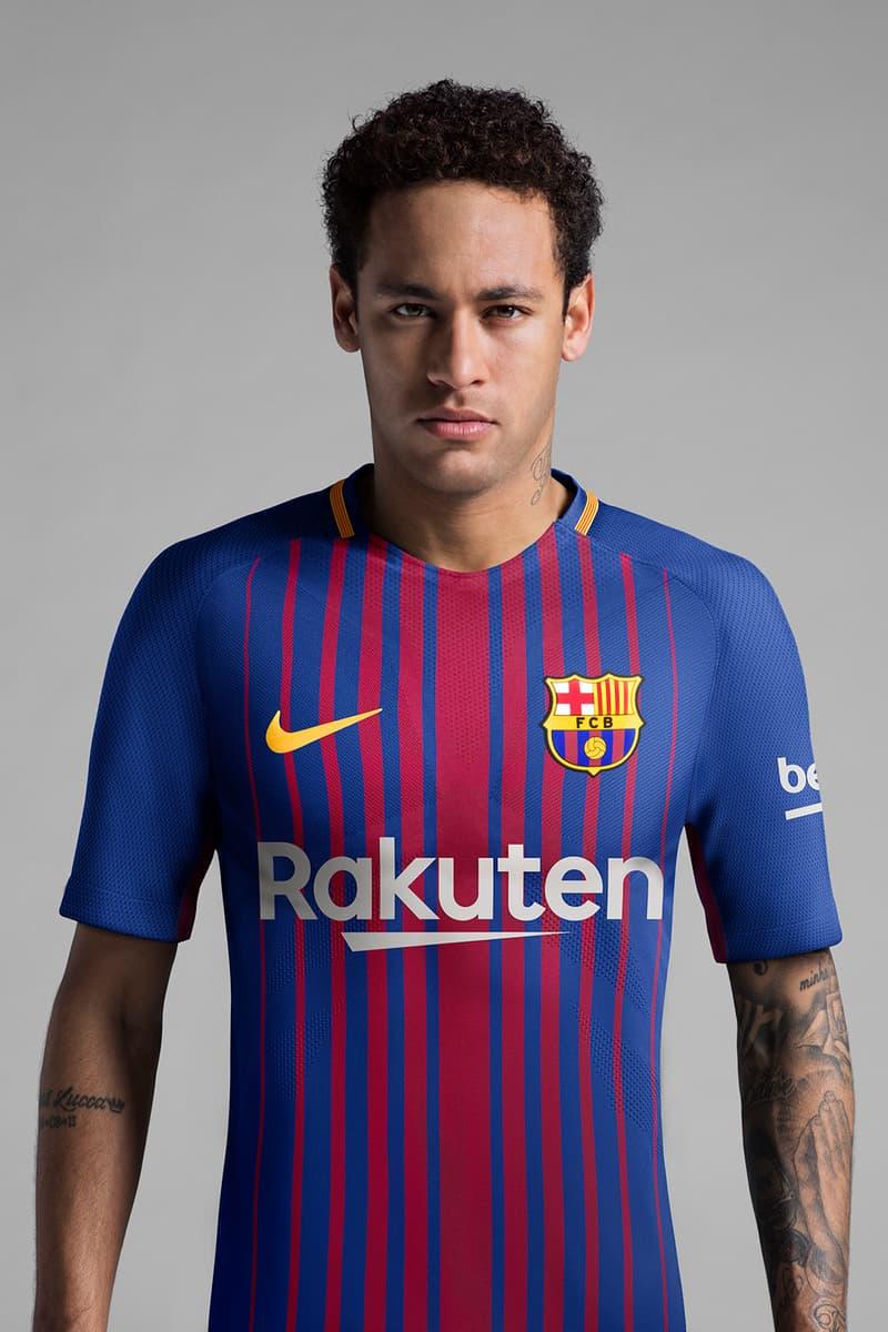 half off b7925 51ecb F.C. Barcelona New Kit for 2017/2018 Season | HYPEBEAST