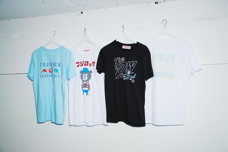 BEAMS Fuji Rock Festival 2017 T-Shirts