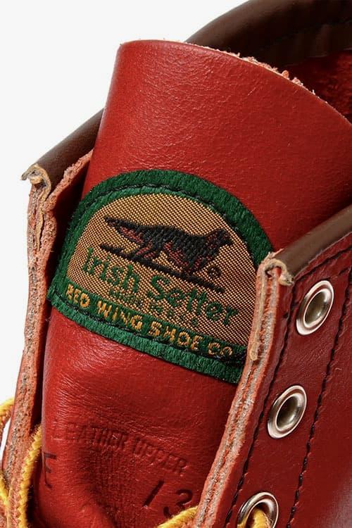 "BEAMS x Red Wing ""Irish Setter"" Boot"