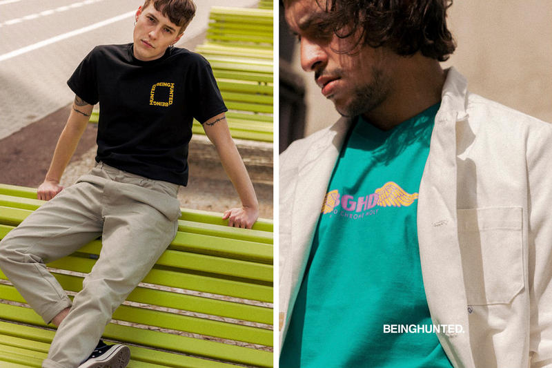 BEINGHUNTED. 2017 Spring/Summer Lookbook Graphic T-Shirts Berlin