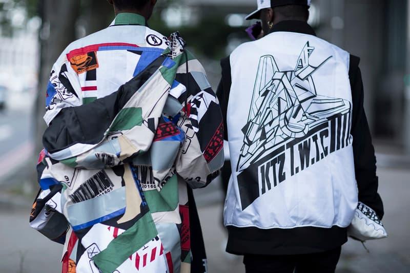 Streetwear Street Style Mens