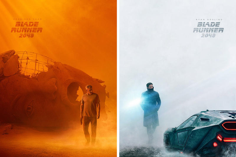 'Blade Runner 2049' Movie Posters Ryan Gosling Harrison Ford