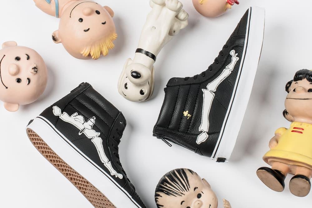Blends Vans Vault Peanuts Sk8-Hi Reissue Zip Sneaker