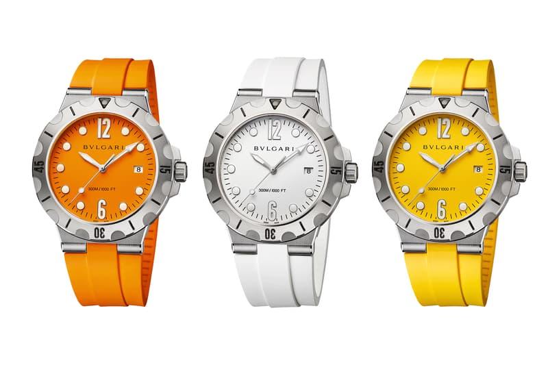 Bulgari Diagono Scuba Dive Watch Series