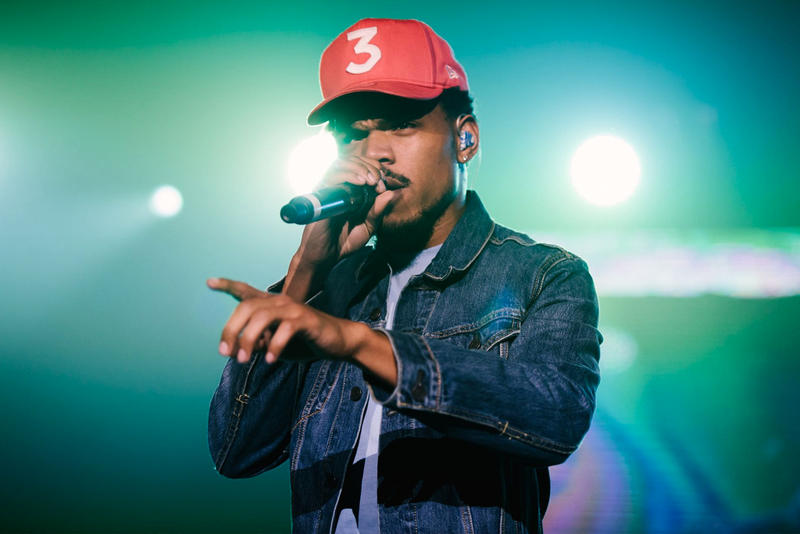 """Chance The Rapper King Louie Future's """"Mask Off"""" Freestyle"""