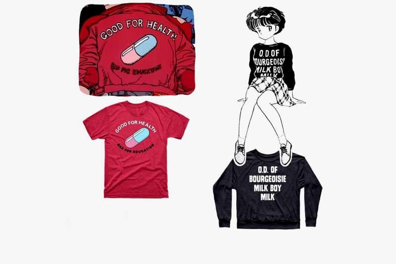 Anime Dragonball Akira Ranma 1/2 Shirts Tees Long Sleeves