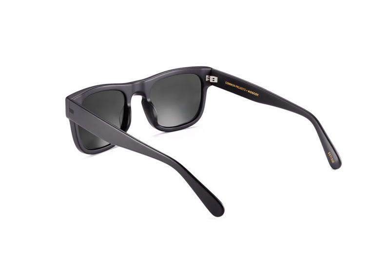 Common Projects MOSCOT TYPE ONE Limited Edition Sunglasses Black Gold