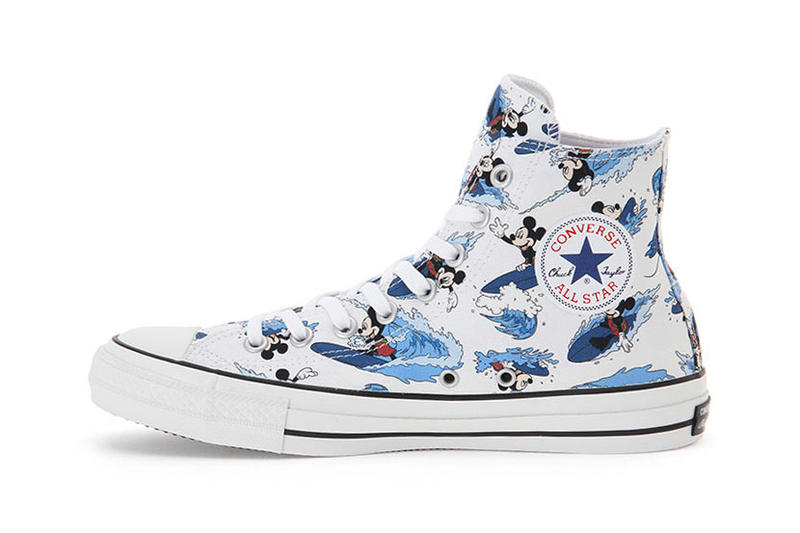Converse Chuck Taylor All Star 100 Mickey Mouse Surfin Hi