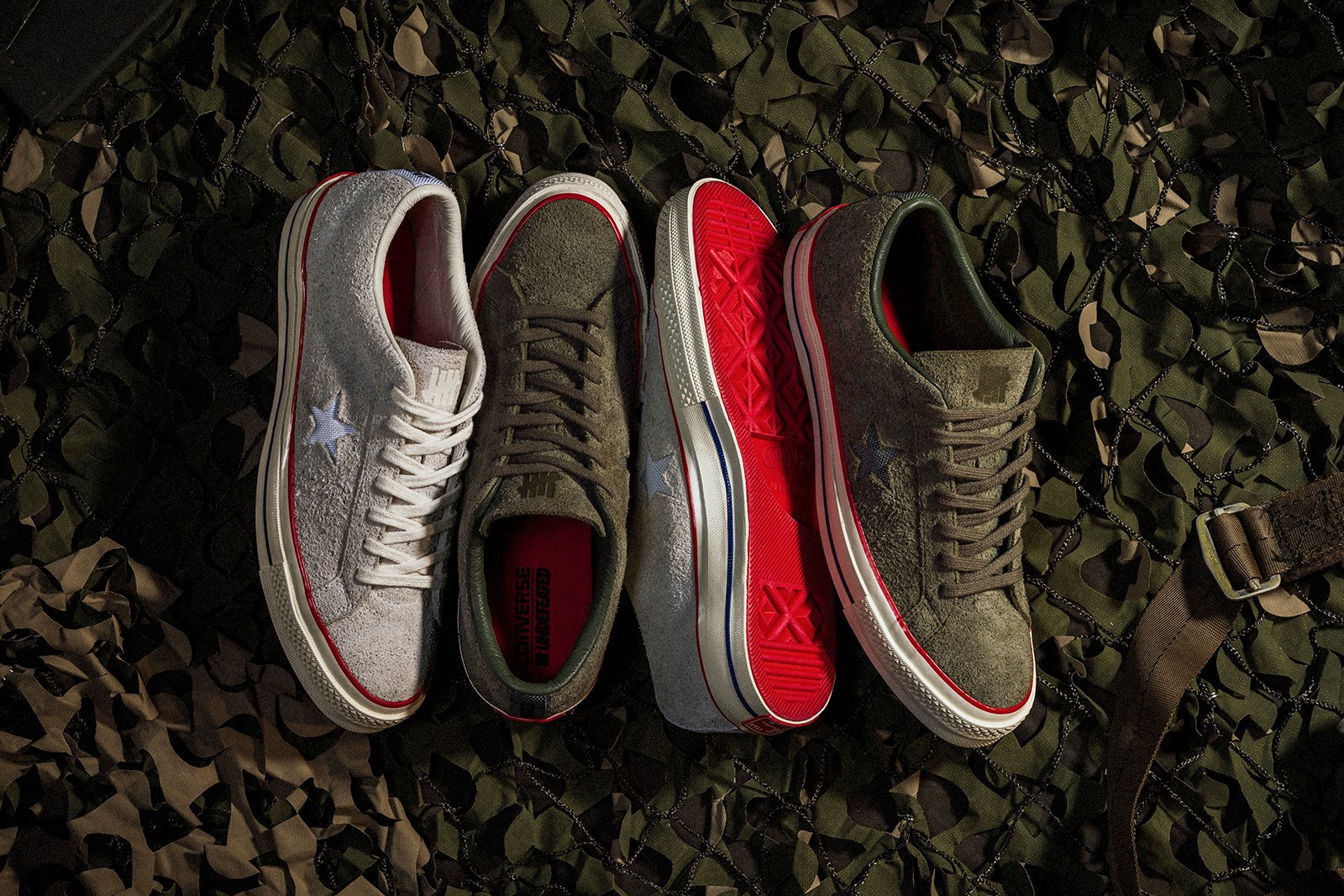 UNDEFEATED x Converse One Star Sneaker