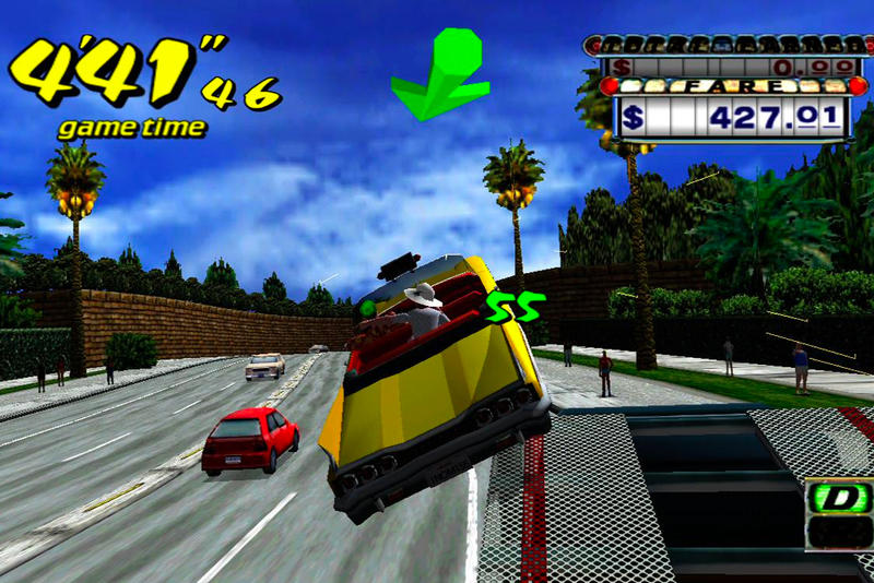 'Crazy Taxi' Free Download Smartphone