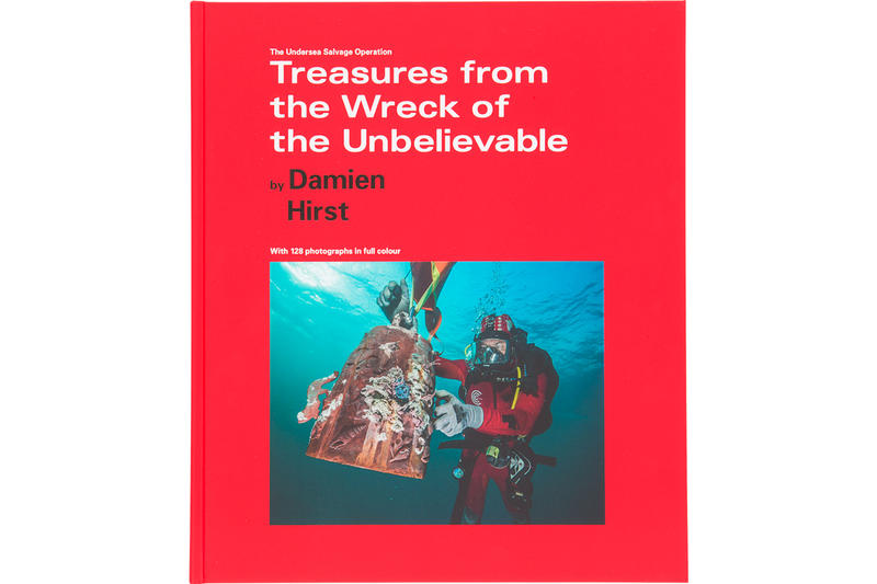 Damien Hirst Treasures From The Wreck Book Hypebeast