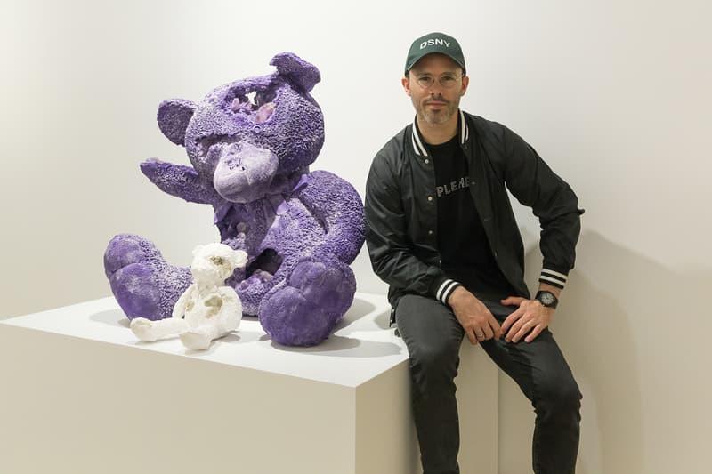 Daniel Arsham Crystal Toys Seoul Interview 2017