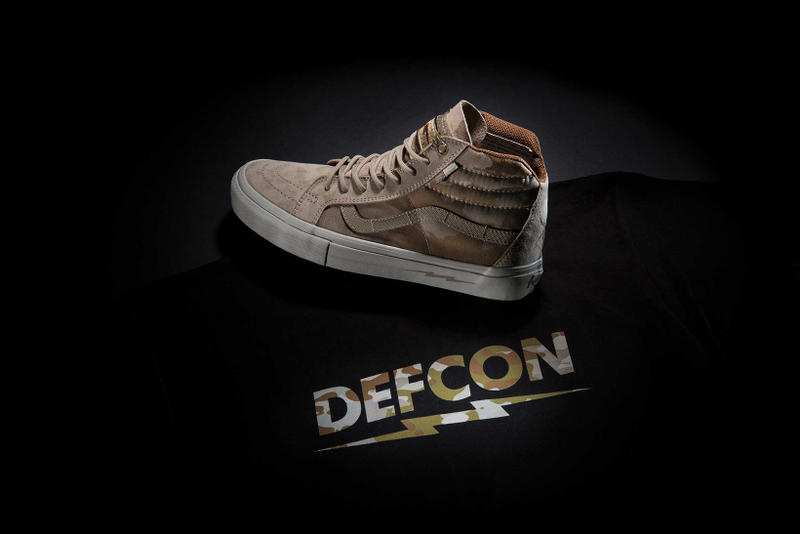 5277217cd5 DEFCON   Vans Bring Back Their Sk8-Hi Notchback Pro. Constructed out of  waterproof and flame-retardant Wolverine pig suede.