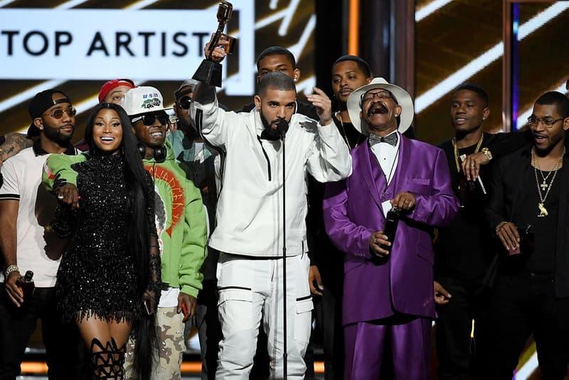 Drake Billboard Music Awards 2017 Wins