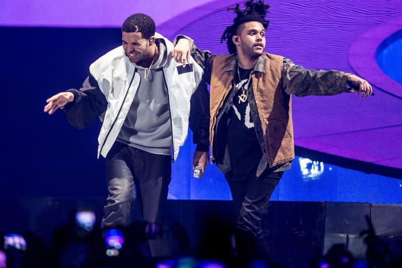 The Weeknd Drake Toronto Show Gyalchaster OVO XO Starboy