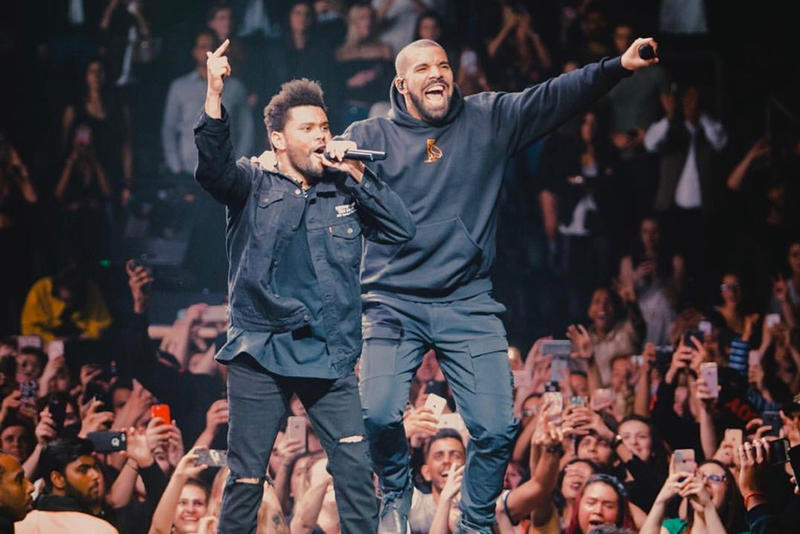 Drake The Weeknd Crew Love First Time 3 Years Legend of The Fall Tour