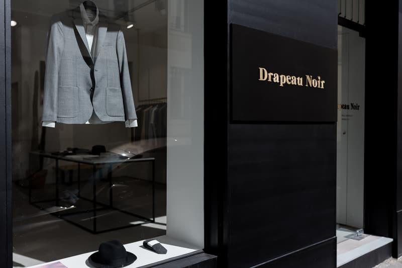Drapeau Noir Flagship Store Paris France