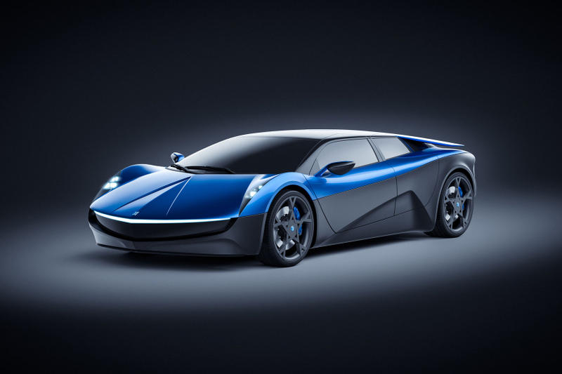 Elextra EV Concept Electric Supercar Swiss Hand-Built
