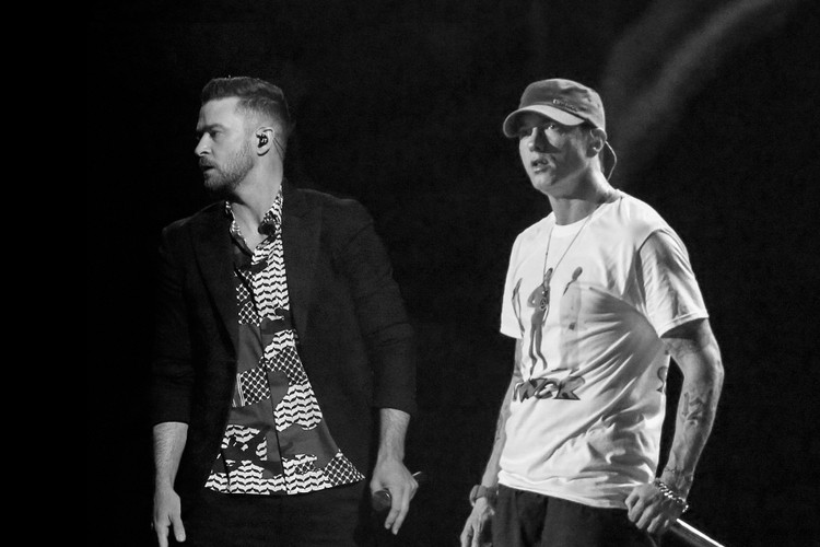 e34b8174d19 Eminem and Justin Timberlake Help Raise Money for Manchester Attack Victims
