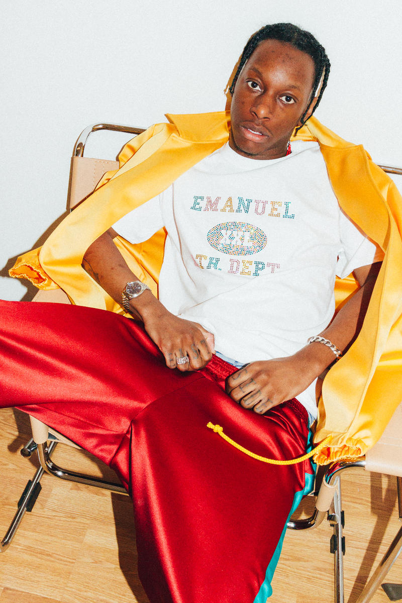 Eric Emanuel Swarovski T-Shirt Track Pants Track Jacket