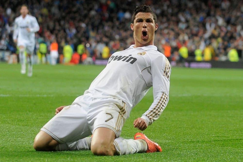 ESPN 2017 World Fame 100 List Cristiano Ronaldo Real Madrid football soccer Portugal goal nike