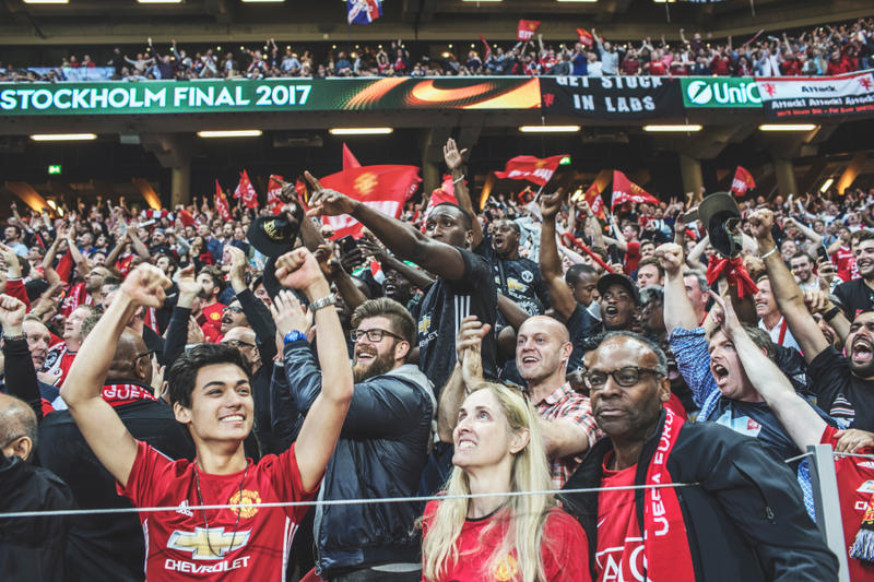2017 Europa League Final Scenes Photography Soccer Football Ajax Manchester United