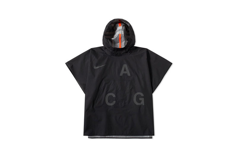 NikeLab ACG 2017 Summer Collection Jacket Hoodie Poncho 07 Komyuter KMTR