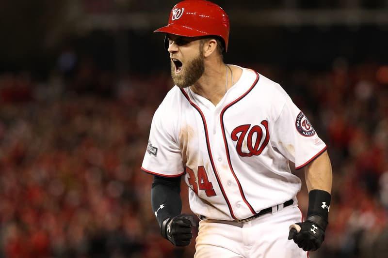 Facebook Stream Major League Baseball Games Bryce Harper Nationals Social Media MLB