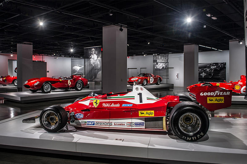 Ferrari Seeing Red Superfast Testa Rossa GT California Spyder SWB 70 Anniversary Cars Supercars Roadsters Petersen Automotive Museum