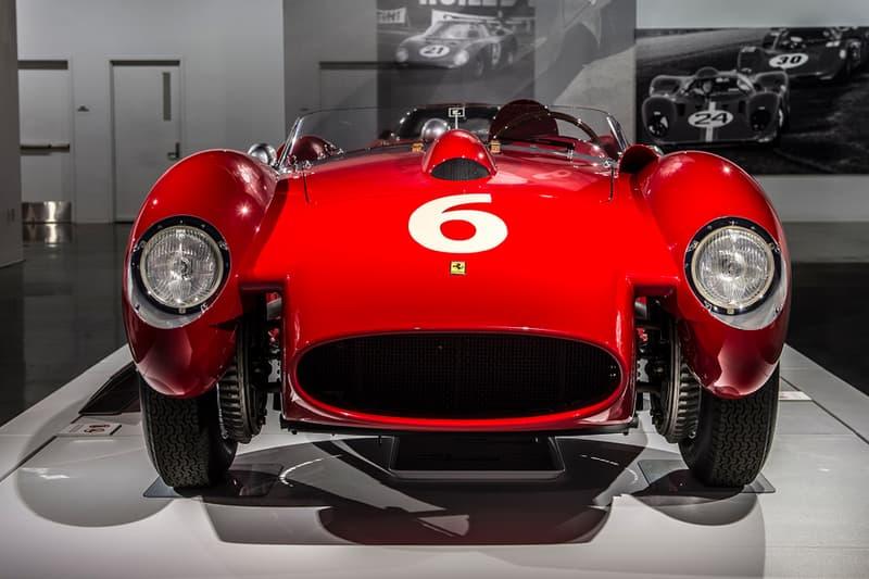 Ferrari Seeing Red Superfast Testa Rossa GT California Spyder SWB 70 Anniversary Cars Supercars Roadsters Petersen Automotive Museum