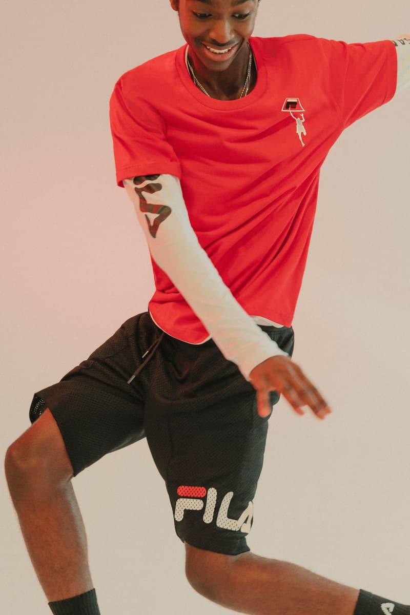 online butik billige priser varmt salg Urban Outfitters x FILA Basketball Collection | HYPEBEAST